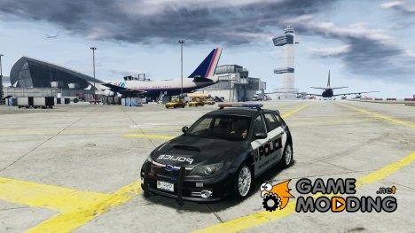 Subaru Impreza WRX STI Police для GTA 4