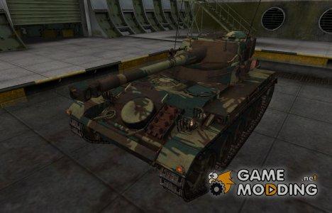 Французкий новый скин для AMX 13 75 for World of Tanks