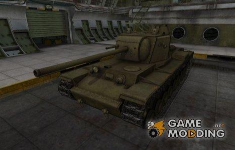 Шкурка для КВ-4 в расскраске 4БО for World of Tanks
