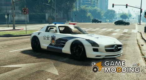 Mercedes-Benz SLS AMG Police for GTA 5