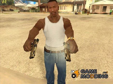 New Colt HD for GTA San Andreas