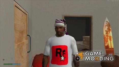 Новогодняя шапка v 2.2 for GTA San Andreas