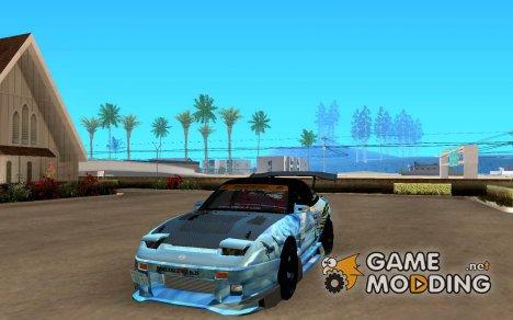 Nissan 180SX Gkon GT tuned для GTA San Andreas