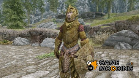 Heavy Elven Armor Replacer для TES V Skyrim