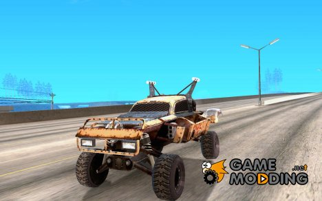 Post Apocalyptic Mayhem sandking для GTA San Andreas