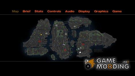 CG4 Radar Map для GTA 4