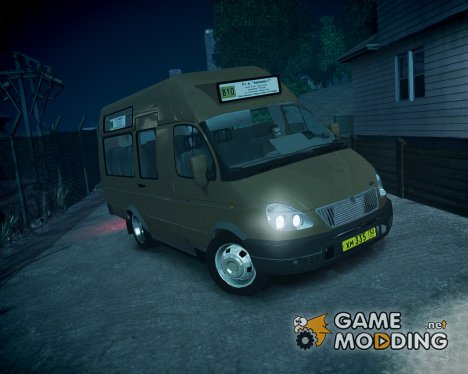 ГАЗель СПВ-16 Рута for GTA 4