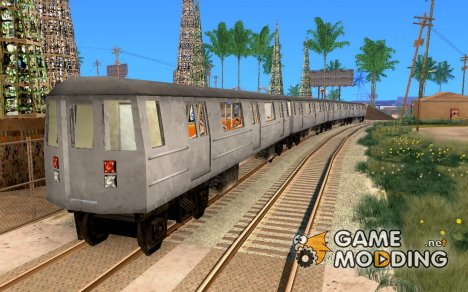 Liberty City Train GTA3 for GTA San Andreas