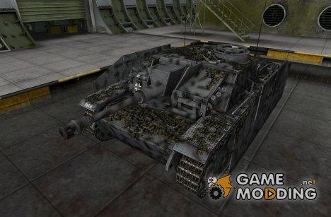 Ремодель со шкуркой для StuG III for World of Tanks