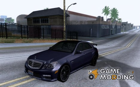 Mercedes-Benz E63 AMG Black Series Tune 2011 для GTA San Andreas