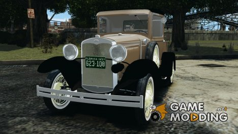 Ford Model A Pickup 1930 for GTA 4