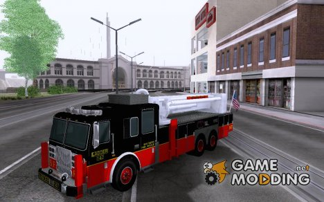 Seagrave Marauder II. SFFD Ladder 147 for GTA San Andreas