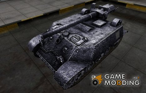 Темный скин для T57 для World of Tanks
