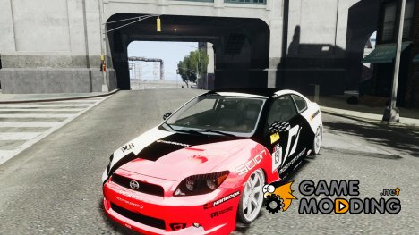 Scion TC Fredric Aasbo Team NFS для GTA 4