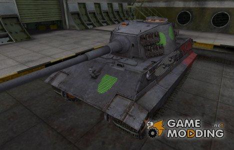 Зона пробития E-75 for World of Tanks