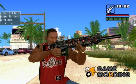 Gauss Rifle for GTA San Andreas