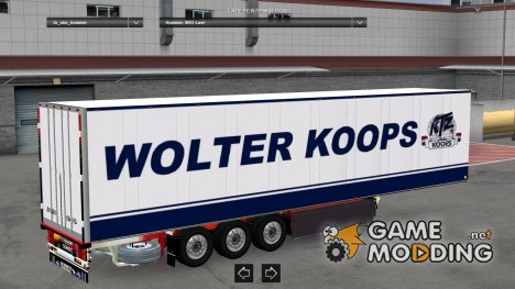 Schmitz Wolter version 1.22x for Euro Truck Simulator 2