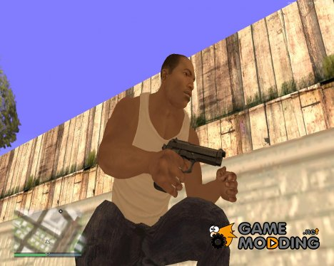 Пак оружия GTA 5 v2 для GTA San Andreas