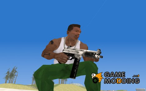 Tec9 из Call of Duty: Black Ops для GTA San Andreas