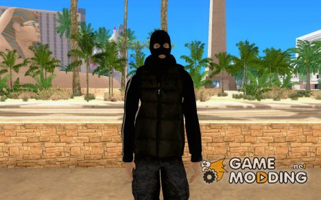 SkinHead (Football fan) для GTA San Andreas