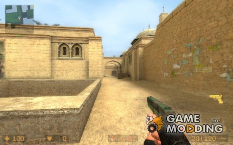 Camo Glock для Counter-Strike Source