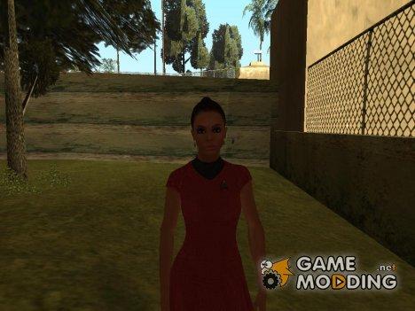 Beauty Girl для GTA San Andreas