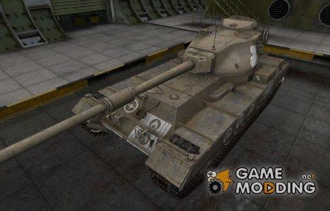 Зоны пробития контурные для FV215b for World of Tanks