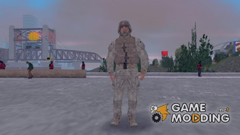 Call Of Duty MW2 армеец для GTA 3