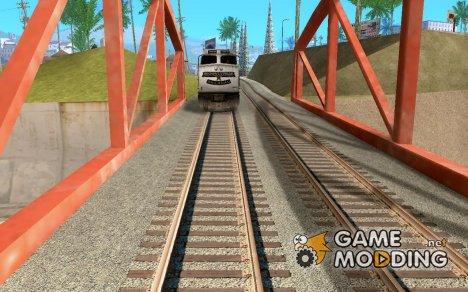 Railway sounds для GTA San Andreas