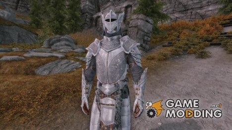 SPOA Silver Knight Armor for TES V Skyrim