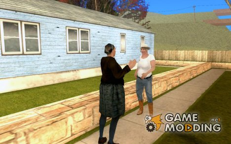 Оживлённый Энджел Пайн v.3 (Финал) для GTA San Andreas