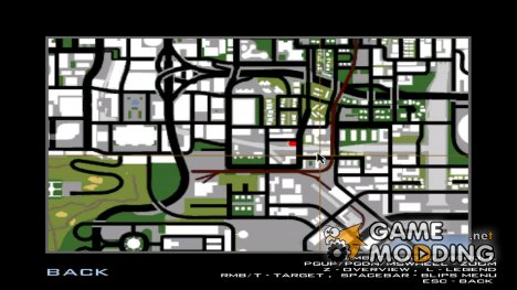 Mapa com todos os Pay 'n' Spray para SAMP. (Map with all the Pay 'n' Spray for SAMP) for GTA San Andreas