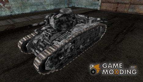шкурка для PzKpfw B2 740(f) №3 for World of Tanks
