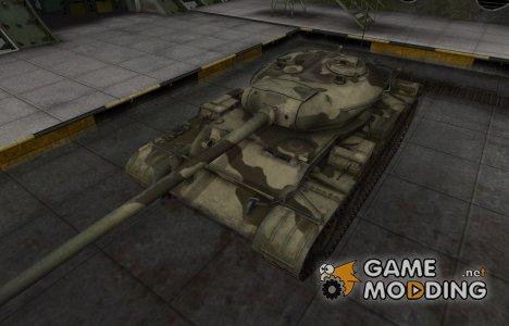 Пустынный скин для Т-54 для World of Tanks