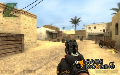 X rock X's MW2 Deagle Animations для Counter-Strike Source