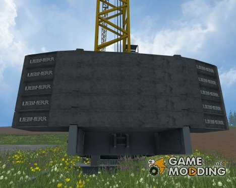 Placeable Liebherr для Farming Simulator 2015