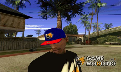 "Кепка ""Gamemodding"" для GTA San Andreas"