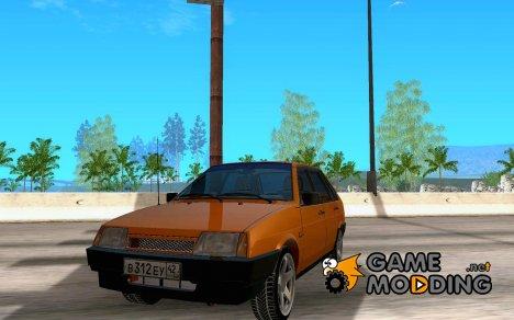 ВАЗ 2109 Зимняя for GTA San Andreas