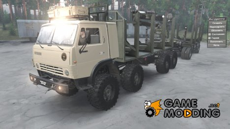 КамАЗ 63501-996 Military for Spintires 2014