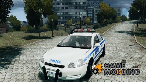 NYPD Chevrolet Impala 2006 [ELS] for GTA 4