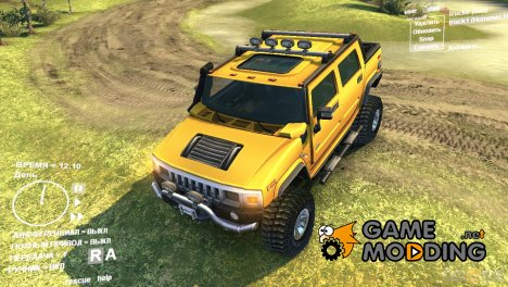 Hummer H2 SUT for Spintires DEMO 2013