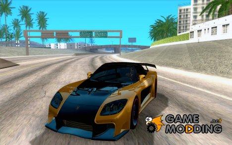 Mazda RX7 Veilside Tokyo Drift для GTA San Andreas