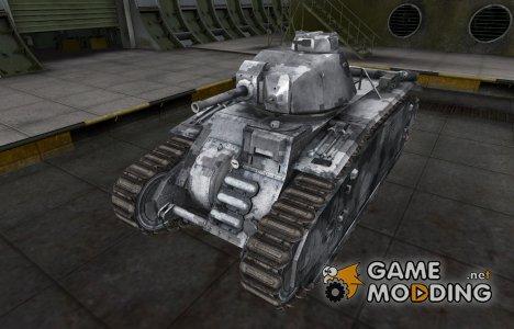 Камуфлированный скин для PzKpfw B2 740 (f) for World of Tanks