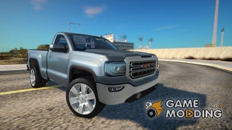GMC Sierra 2018 Single Cab for GTA San Andreas