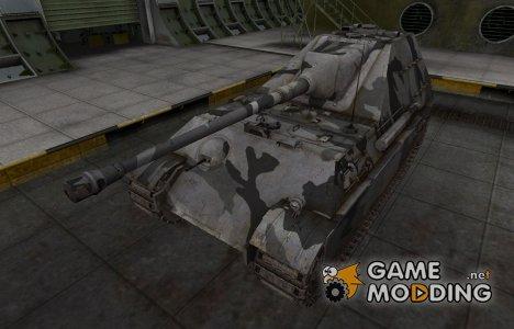 Шкурка для немецкого танка Jagdpanther II for World of Tanks