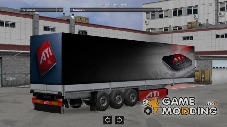 Nvidia, Ati, Intel Trailers for Euro Truck Simulator 2
