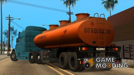 Прицеп-цистерна НефАЗ for GTA San Andreas