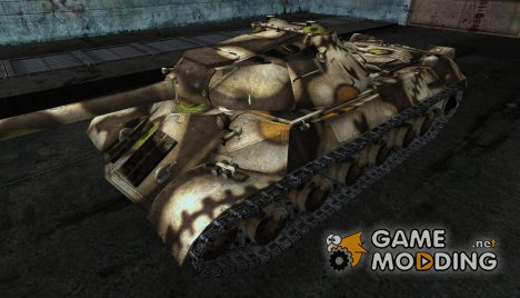 шкурка для ИС-3 (по мотивам Tanki online) для World of Tanks