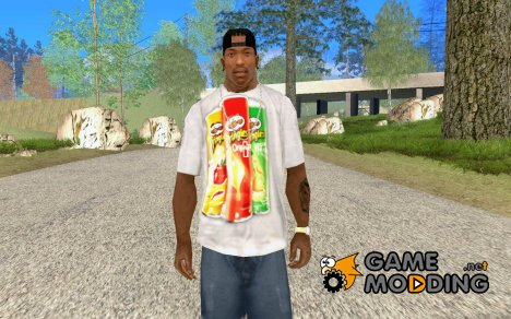 Футболка PRINGLES для GTA San Andreas
