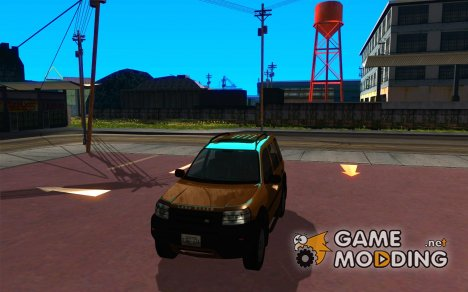 Land Rover Freelander KV6 for GTA San Andreas
